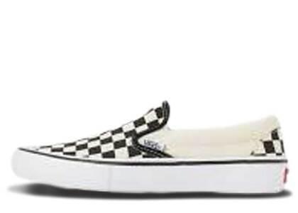 Vans Slip-On Pro Checkerboard Black Whiteの写真