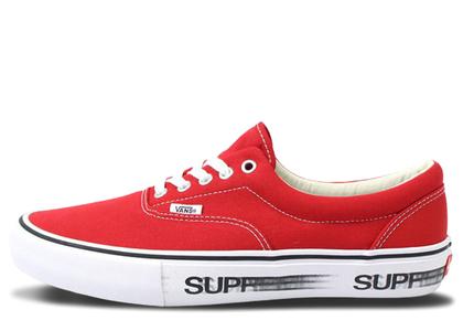 Vans Era Supreme Motion Logo Redの写真