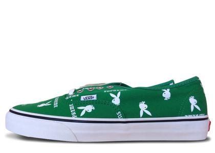 Vans Authentic Supreme x Playboy Greenの写真