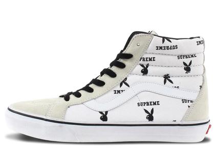 Vans Sk8-Hi Supreme x Playboy Whiteの写真