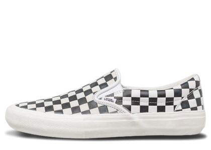 Vans Slip-On Engineered Garments Checkerboard White Blackの写真