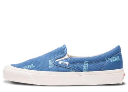 Vans Slip-On Multi-Logo Blueの写真