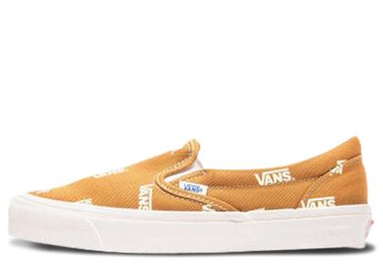 Vans Slip-On Multi-Logo Brownの写真