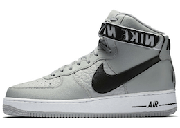 Air Force 1 High NBA Flat Silverの写真