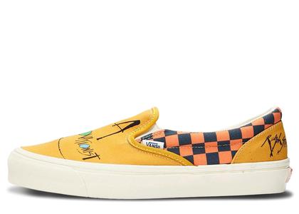 Vans Slip-On Ralph Steadman Checkerboard Orangeの写真
