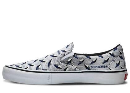 Vans Slip-On Supreme Diamond Plate Whiteの写真