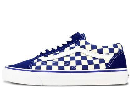 Vans Old Skool Blue Checkerboardの写真