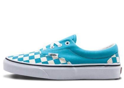 Vans Era Checkerboard Scuba Blueの写真