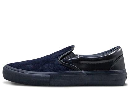 Vans Slip-On Engineered Garments Mismatched Cow Hair Blueの写真
