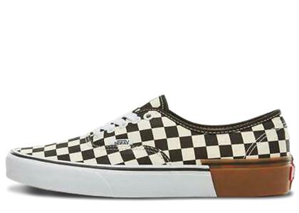 Vans Authentic Checkerboard Gum Soleの写真