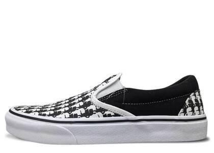 Vans Classic Slip-On Karl Lagerfeld Black Whiteの写真