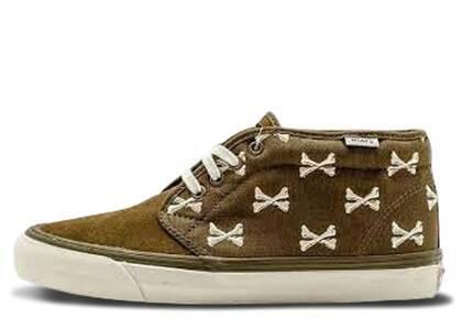 Vans Chukka Boot WTAPS Olive Crossbonesの写真