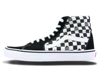 Vans Sk8-Hi DSM Checkerboard Black Whiteの写真