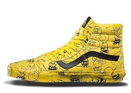 Vans Sk8-Hi Peanuts Charlie Brownの写真