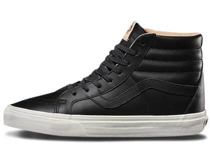 Vans Sk8-Hi Lux Leather Black Porciniの写真