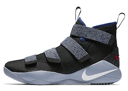 LeBron Zoom Soldier 11 Glacier Greyの写真