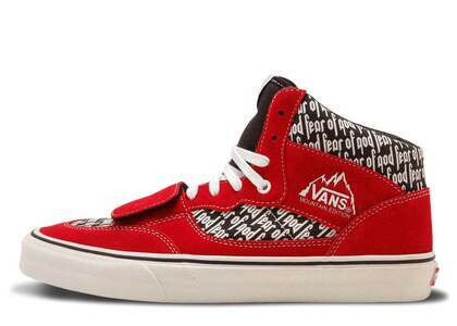 Vans Mountain Edition Fear of God Redの写真