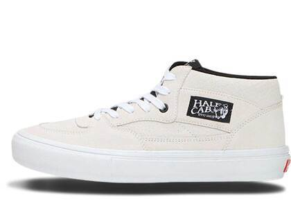 Vans Half Cab Pro Uprise Skateshop Whiteの写真