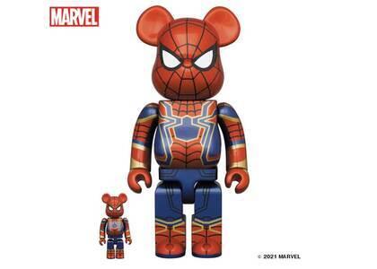 Be@rbrick Iron Spider 100% & 400%の写真