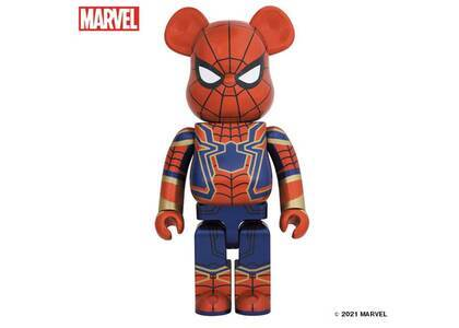 Be@rbrick Iron Spider 1000%の写真