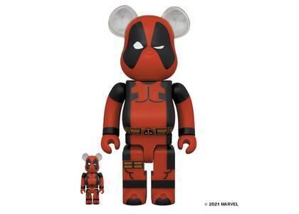 Be@rbrick Deadpool 100% & 400%の写真