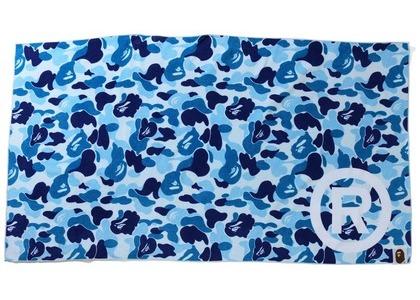 Bape ABC Camo Beach Towel Blue (SS21)の写真