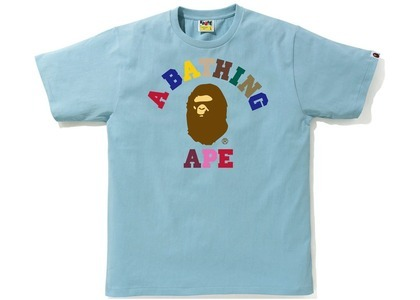 Bape Colors College Tee Sax (SS21)の写真