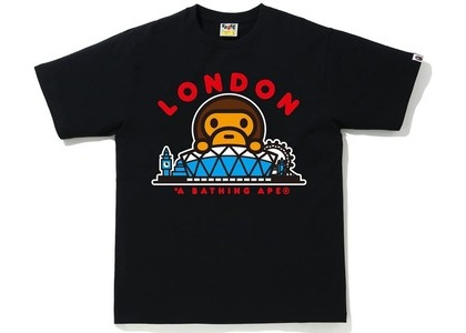Bape London Baby Milo Tee Black (SS21)の写真