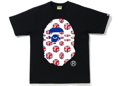 Bape London Union Jack Tee Black (SS21)の写真