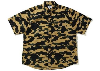 Bape 1st Camo Relaxed Short Sleeve Shirt Yellow (SS21)の写真