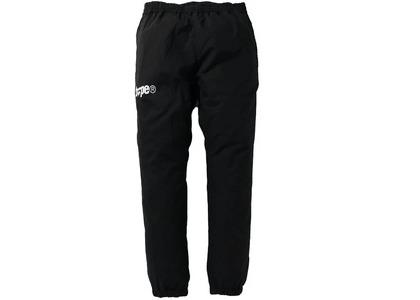 Bape Logo Track Pants Black (SS21)の写真