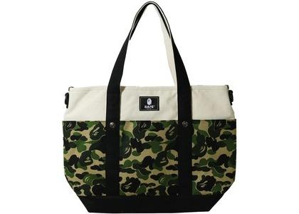 Bape ABC Camo Mom's Tote Bag Green (SS21)の写真
