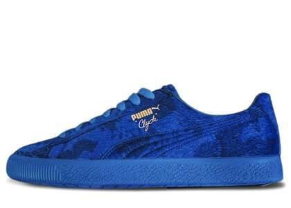 Puma Clyde Packer Shoes Cow Suit Blueの写真