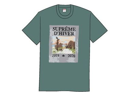 Supreme D'Hiver Tee Dusty Tealの写真