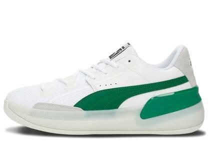 Puma Clyde Hardwood White Greenの写真