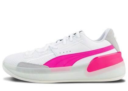 Puma Clyde Hardwood White Pinkの写真