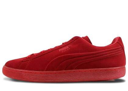 Puma Suede Emboss Iced Redの写真