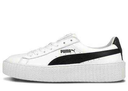 Puma Creeper Rihanna Fenty Leather Whiteの写真
