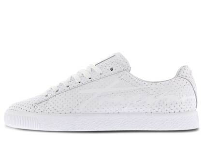 Puma Clyde Perforated Trapstar Whiteの写真
