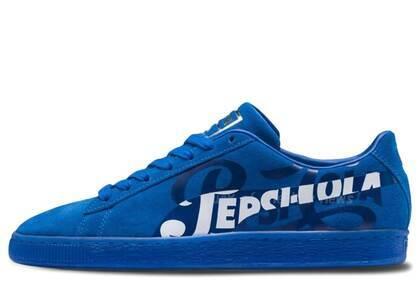 Puma Suede Pepsi Blueの写真