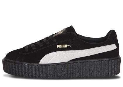 Puma Creepers Rihanna Fenty Black White Womensの写真