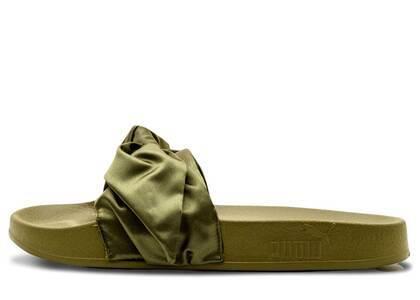 Puma Bow Slide Rihanna Fenty Olive Womensの写真