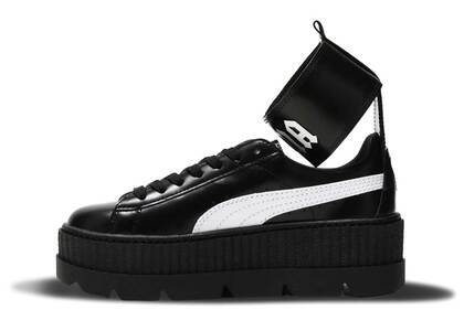 Puma Ankle Strap Rihanna Fenty Black White Womensの写真