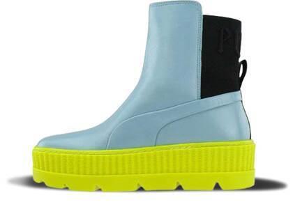 Puma Chelsea Sneaker Boot Rihanna Fenty Sterling Blue Womensの写真