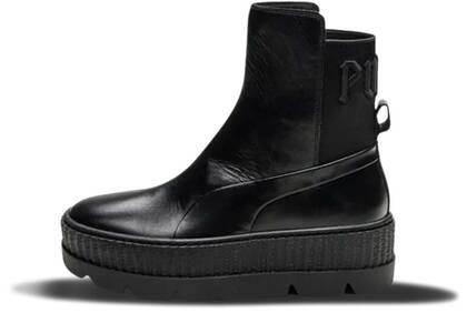 Puma Chelsea Sneaker Boot Rihanna Fenty Black Womensの写真