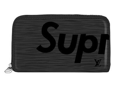 Supreme x Louis Vuitton Zippy Organizer Epi Black (SS17)の写真