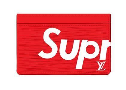 Supreme x Louis Vuitton Porte Carte Simple Epi Red (SS17)の写真