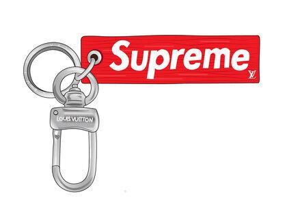 Supreme x Louis Vuitton Epi Keychain Red (SS17)の写真