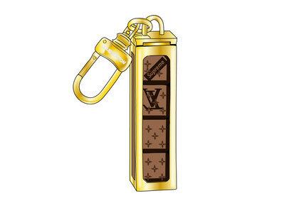 Supreme x Louis Vuitton Dice Key Chain Brass (SS17)の写真