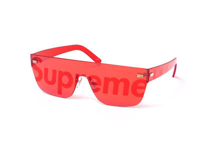 Supreme x Louis Vuitton City Mask SP Sunglasses Red (SS17)の写真